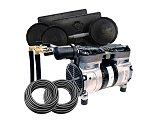 EasyPro PA65 Rocking Piston Pond Aeration System 1/2 HP Kit with Poly Tubing
