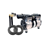EasyPro Rocking Piston Pond Aeration System- 1/2 HP Kit w/ Quick Sink Tubing (No Diffusers)